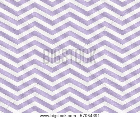 Mauve and White Zigzag Textured Fabric Background that is seamless and repeats poster