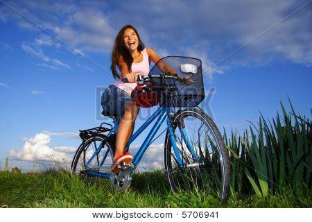 Biking Woman