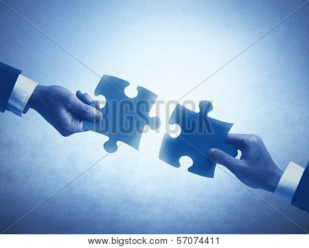 Teamwork And Integration Concept