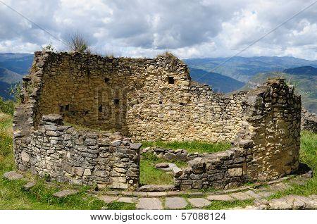 Peru, Kuelap Extraordinary Archeological Site Near Chachapoyas