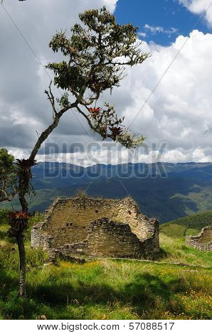 Peru, Kuelap Extraordinary Archeological Site Near Chachapoyas