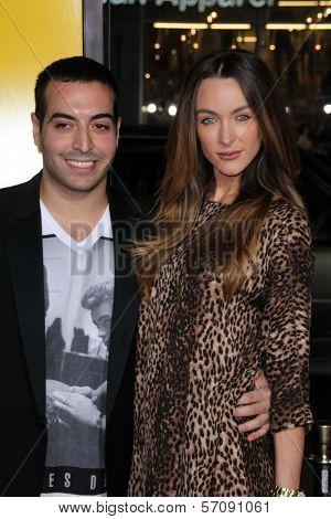 Mohammad Al Turki and Courtney Bingham  at the