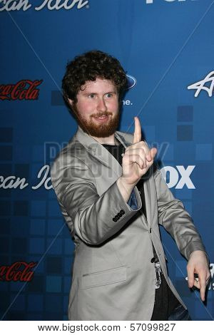 Casey Abrams  at the American Idol Season 10 Top 13 Finalists Party, The Grove, Los Angeles, CA. 03-03-11