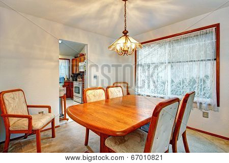 Cozy Small Dining Room With Window