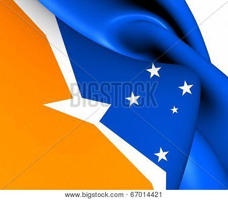 Flag Of Tierra Del Fuego
