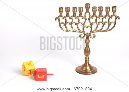 Menorah, Isolated