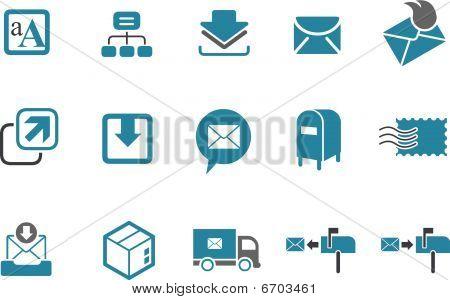 Mailing Icon Set