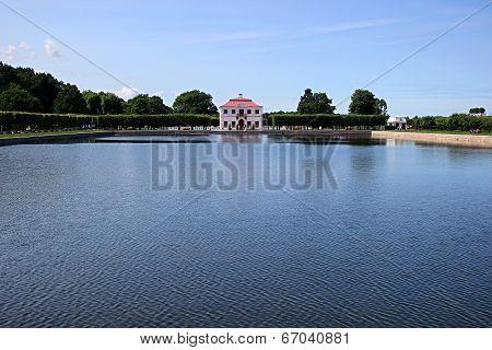 Palace Marley In Peterhof