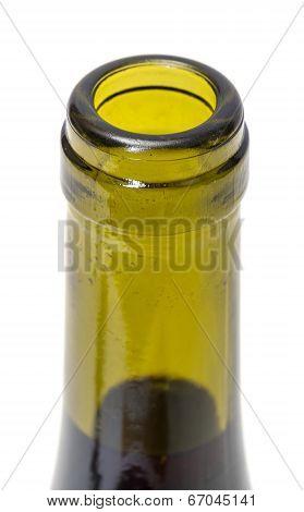 Opened Wine Bottleneck