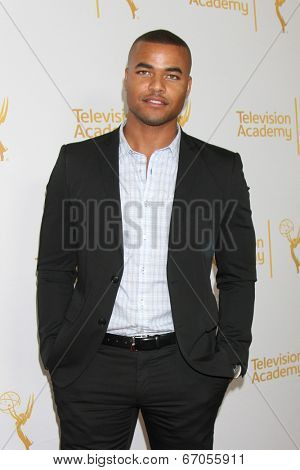 LOS ANGELES - JUN 19:  Redaric Williams at the ATAS Daytime Emmy Nominees Reception at the London Hotel on June 19, 2014 in West Hollywood, CA