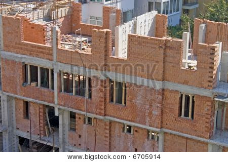 Home Building Under Construction