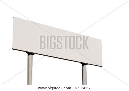 Blank Road Sign Without Frame
