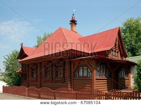 Dean's House In Sts. Boris And Gleb Monastery, Dmitrov Town