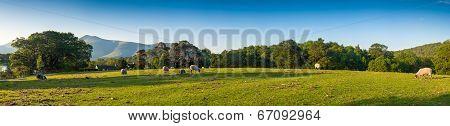Landscape, Lake District, Uk.