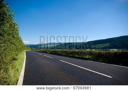 Open Road And Highway