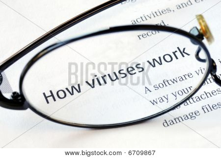 Focus on the fact that how viruses work