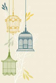 intage birdcages