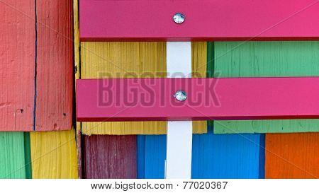 Painted Wood