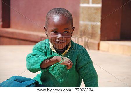 20-08-2014- The Smile Of A Little Girl African-pomerini-tanzania