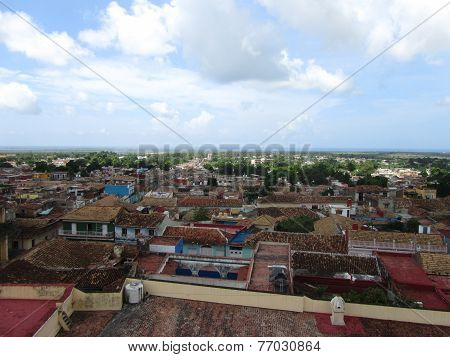 Trinidad, Cuba. View From The Top