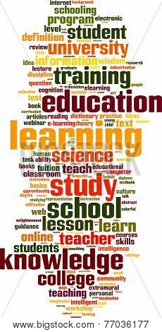 Learning Word Cloud