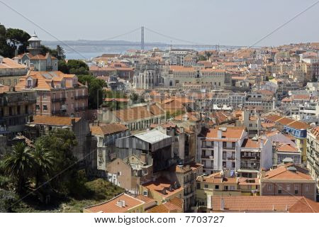 View of the city - Lisbon.