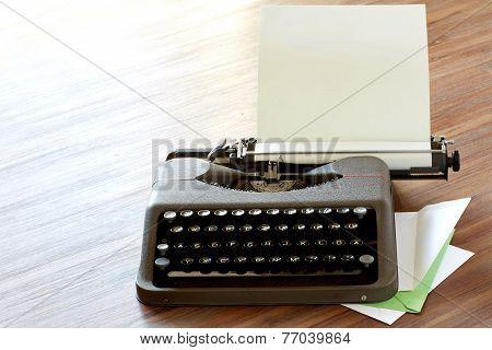 Typewriter High Key Corner