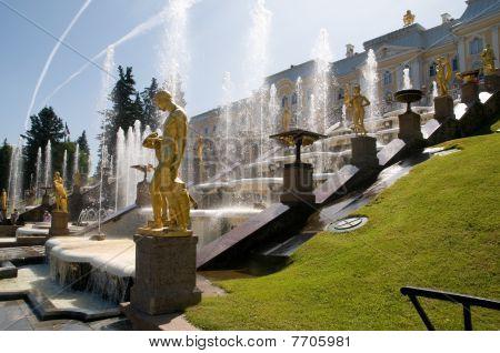 Petershof near Saint Petersburg, Russia.