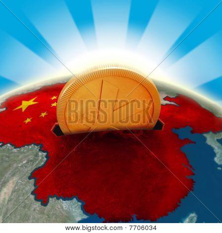 Chinese moneybox