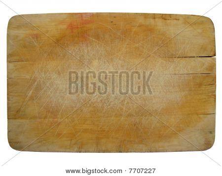 antique wood chopping board