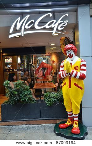 Mascot Of A Mcdonald Restaurant