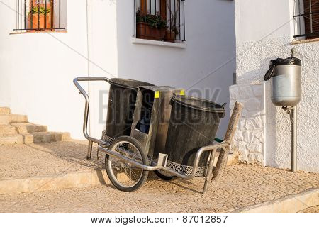 Street Cleaner Trolley