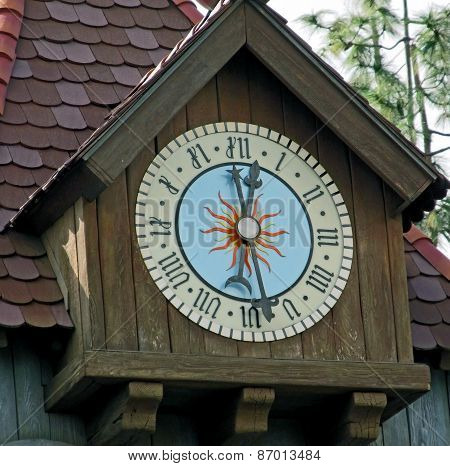 An Old Country Clock