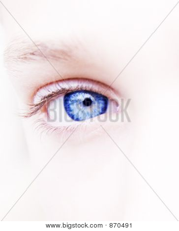 Woman Blue Eye