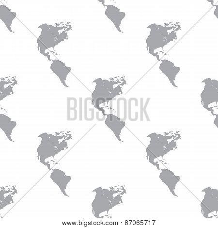 New Continental Americas seamless pattern