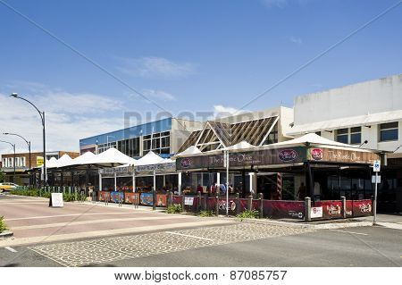 Waterfront Street In Redcliffe