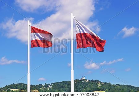 Austria Flags Linz