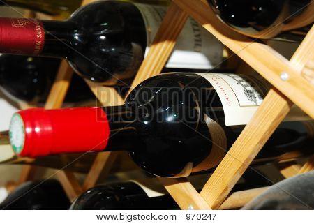 Wine On Rack