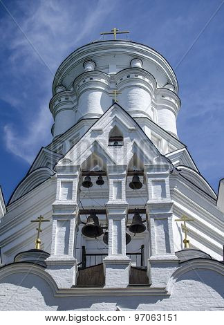 Belltower of orthodox church