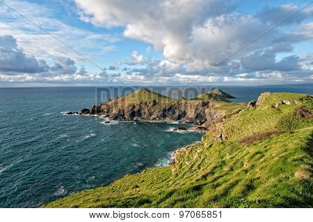 The Rumps On The Cornwall Coast