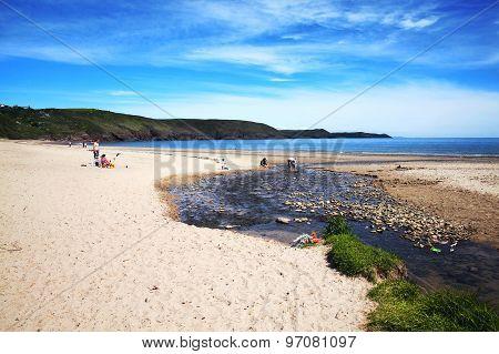 Freshwater Beach, Pembrokeshire, Wales