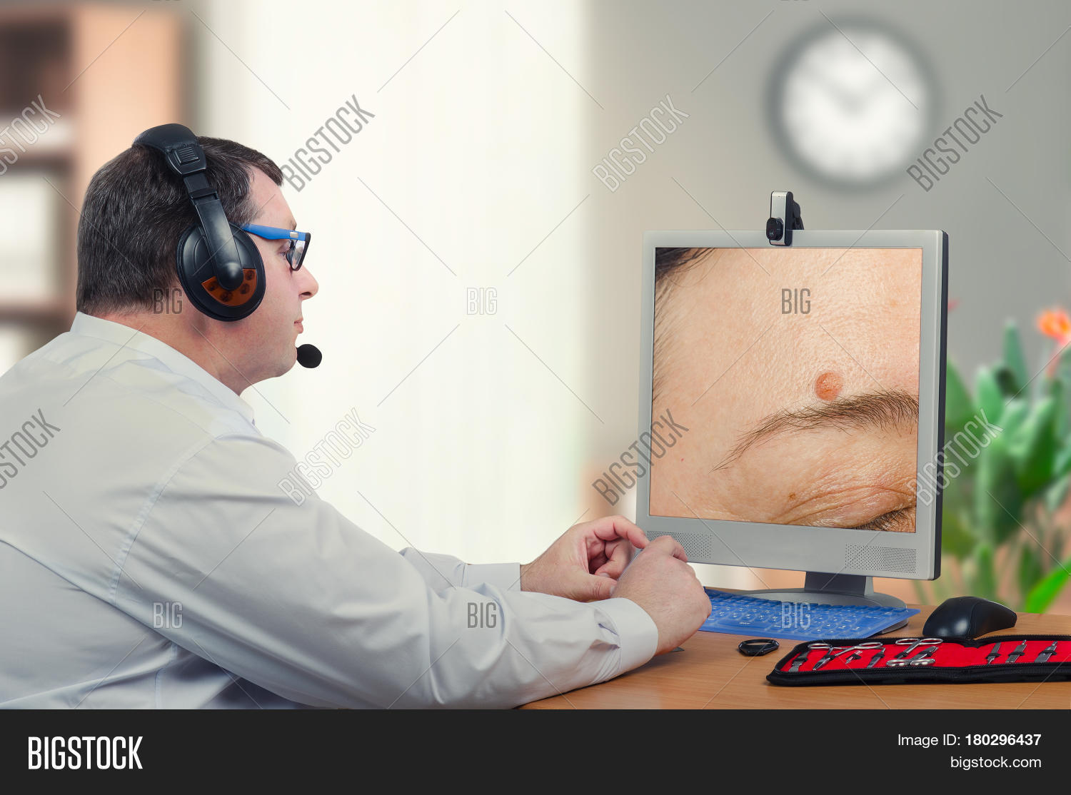 Telemedicine Male Image & Photo (Free Trial) | Bigstock