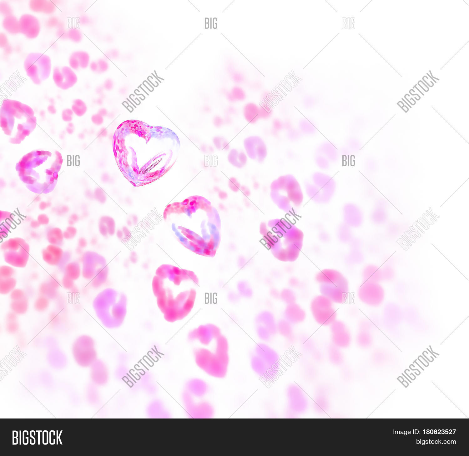 Abstract White Fractal Image Photo Free Trial Bigstock