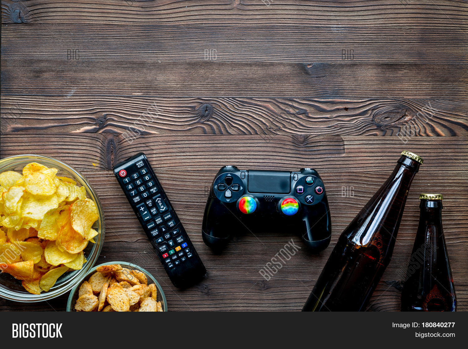 Playing Video Games On Image & Photo (Free Trial) | Bigstock