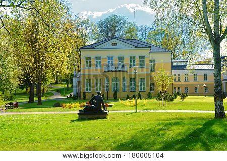 Historic Building In Park Of Druskininkai
