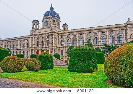 Vienna Royal Museum Of Natural History