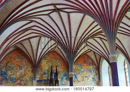 Interior Of Malbork Castle Poland