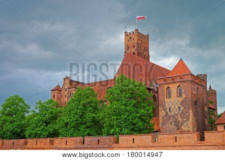 Malbork Castle Pomerania Province Poland