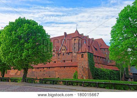 Towers Of Malbork Castle Poland