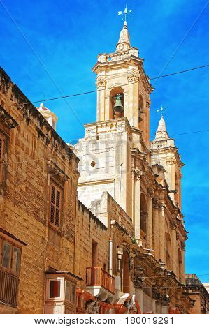 Our Lady Of Safe Haven And St Dominic Church Valletta
